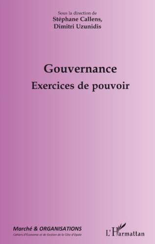 Couverture Gouvernance