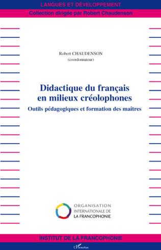 Couverture Didactique du français en milieux créolophones