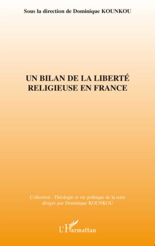 Couverture Un bilan de la liberté religieuse en France