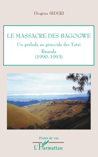 Couverture Le massacre des Bagogwe