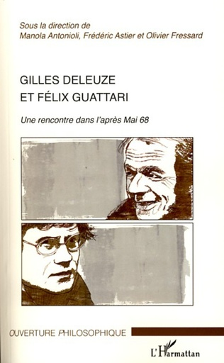 Couverture Gilles Deleuze et Félix Guattari