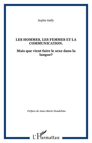 Couverture Les hommes, les femmes et la communication.