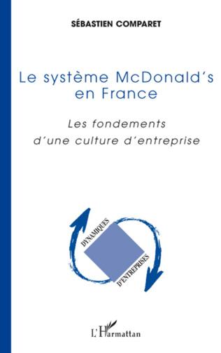 Couverture Le système McDonald's en France
