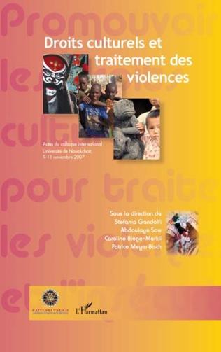Couverture Droits culturels et traitement des violences