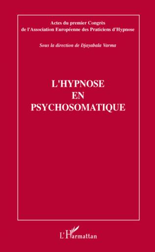 Couverture L'hypnose en psychosomatique