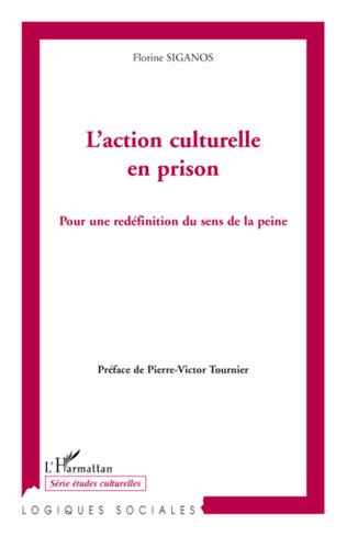Couverture L'action culturelle en prison
