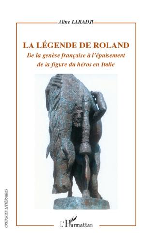 Couverture La légende de Roland