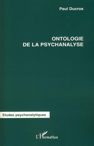 Couverture Ontologie de la psychanalyse