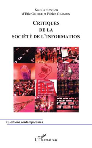 Couverture Critiques de la société de l'information