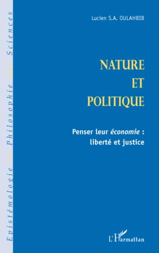 Couverture Nature et politique