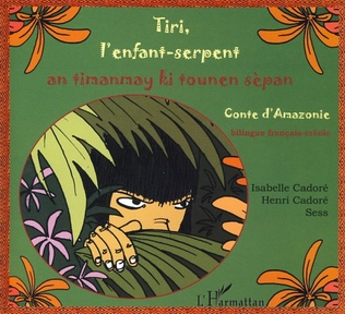Couverture Tiri, l'enfant-serpent
