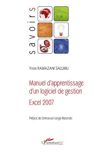 Couverture Manuel d'apprentissage d'un logiciel de gestion Excel 2007