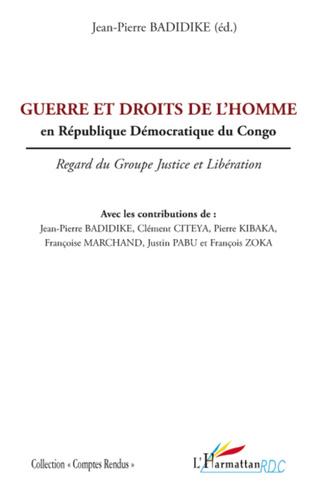 Couverture Guerre et droits de l'homme en République Démocratique du Congo