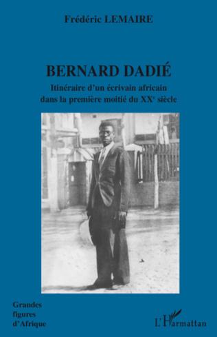 Couverture Bernard Dadié