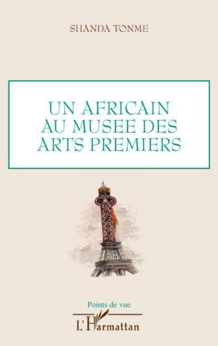 Couverture Un africain au musée des arts premiers