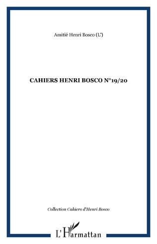 Couverture CAHIERS HENRI BOSCO N°19/20