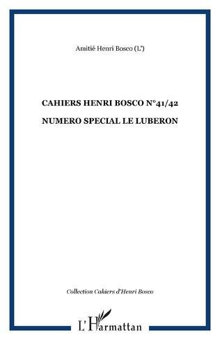 Couverture CAHIERS HENRI BOSCO N°41/42