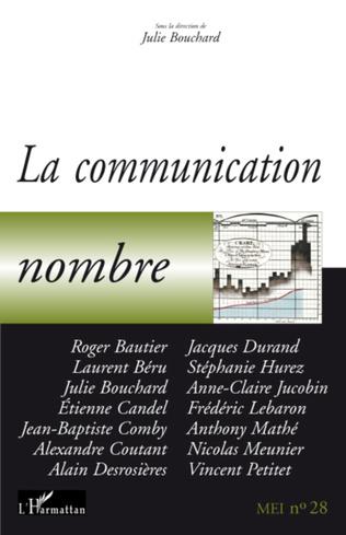 Couverture La communication nombre