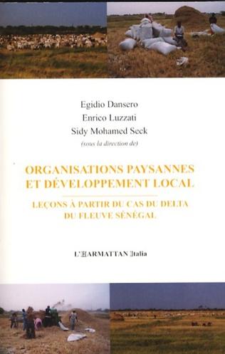Couverture Organisations paysannes et développement local
