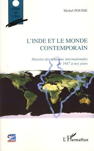 Couverture L'Inde et le monde contemporain