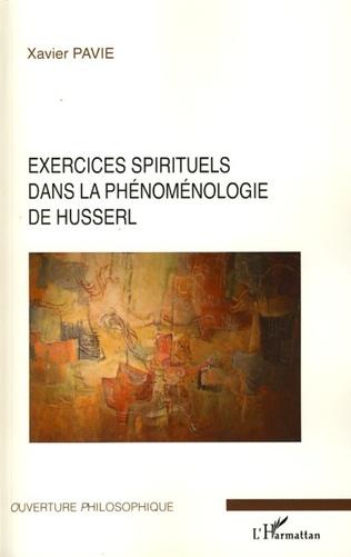 Couverture Exercices spirituels dans la phénoménologie de Husserl