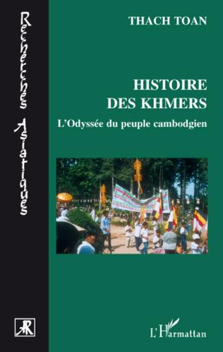 Couverture Histoire des Khmers