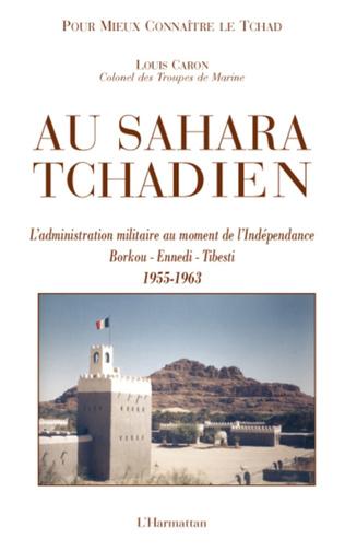 Couverture Au Sahara Tchadien