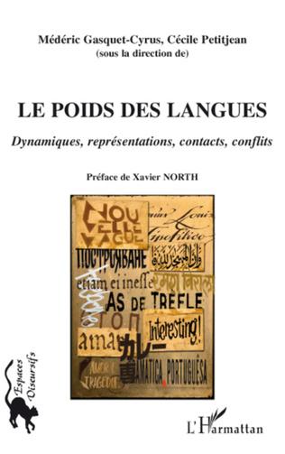 Couverture Le Poids des langues