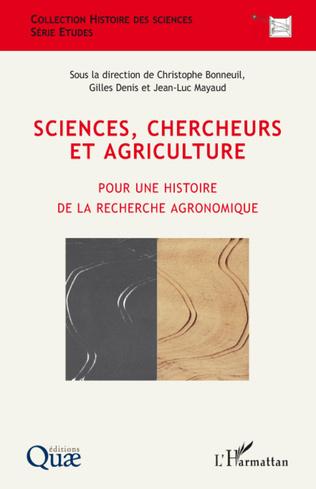 Couverture Sciences, chercheurs et agriculture