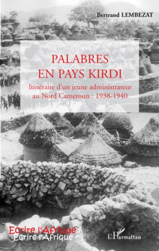 Couverture Palabres en pays Kirdi
