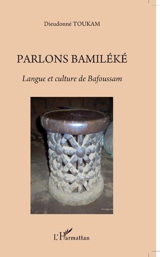 Couverture Parlons bamiléké. Langue et culture de Bafoussam