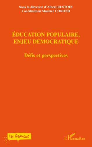 Couverture Education populaire, enjeu démocratique