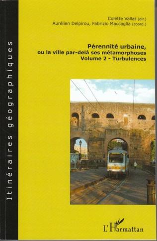 Couverture Pérennité urbaine, ou la ville par-delà ses métamorphoses