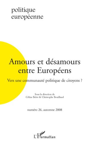 Couverture Amours et désamours entre Européens