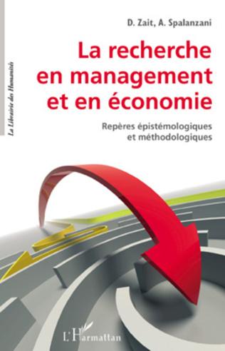 Couverture La recherche en management et en économie