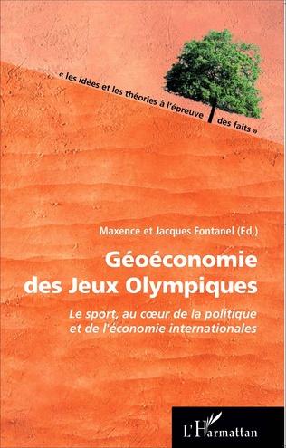 Couverture Géoéconomie des Jeux Olympiques