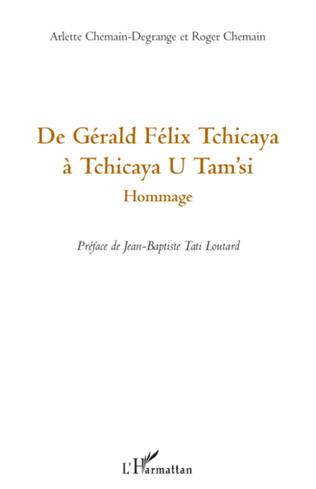 Couverture De Gérald Félix Tchicaya à Tchicaya U Tam'si