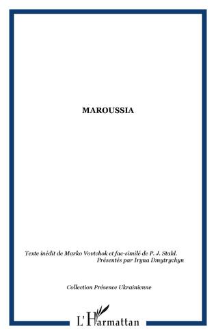 Couverture Maroussia