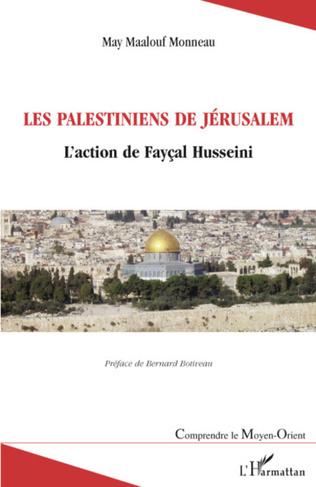 Couverture Les Palestiniens de Jérusalem
