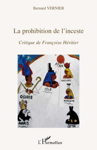 Couverture La prohibition de l'inceste