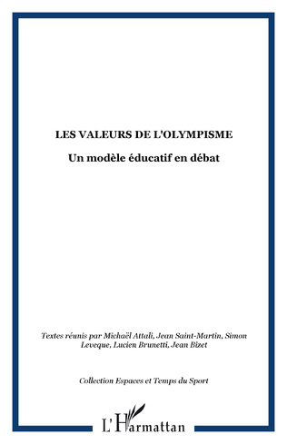 Couverture Les valeurs de l'Olympisme