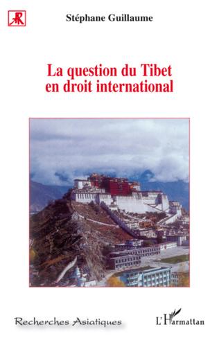 Couverture La question du Tibet en droit international
