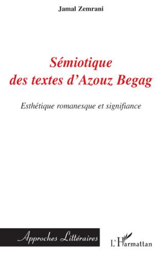 Couverture Sémiotique des textes d'Azouz Begag
