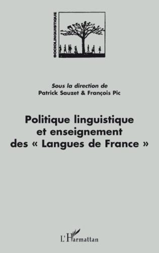 Couverture Politique linguistique et enseignement des