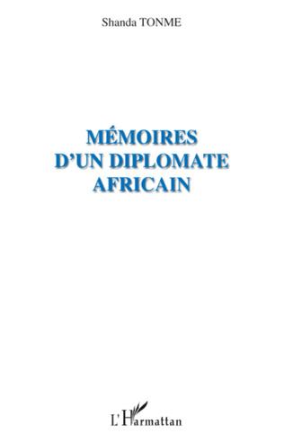 Couverture Mémoires d'un diplomate africain