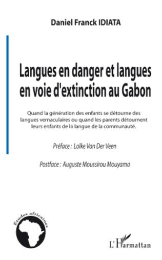 Couverture Langues en danger et langues en voie d'extinction au Gabon