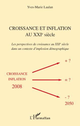 Couverture Croissance et inflation au XXIe siècle