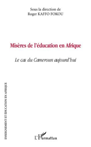 Couverture Misères de l'éducation en Afrique