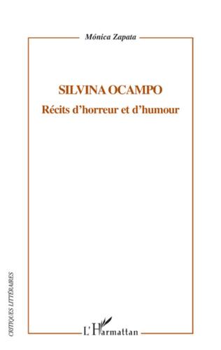 Couverture Silvina Ocampo