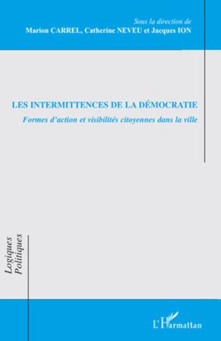 Couverture Les intermittences de la démocratie
